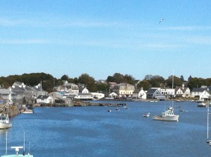 View of Vinalhaven from the ferry.